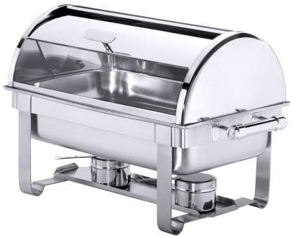 Roll-Top Chafing Dish